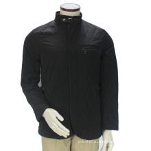 Оптовая Новый Черный Мягкий Хлопок На Заказ Мужчины Зимняя Куртка