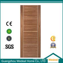 Производство высококачественных деревянных дверей из шпона для гостиниц