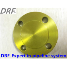 Blind, Forging Flange, Yellow Color, Alloy Steel