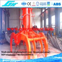 Asa de madera hidráulica hidráulica con función giratoria completa