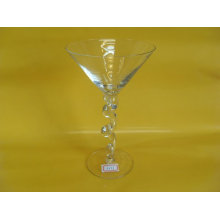 Engraving, Hot Stamping 200ml Cocktail Goblet Wine Glass / Bar Blown Glassware