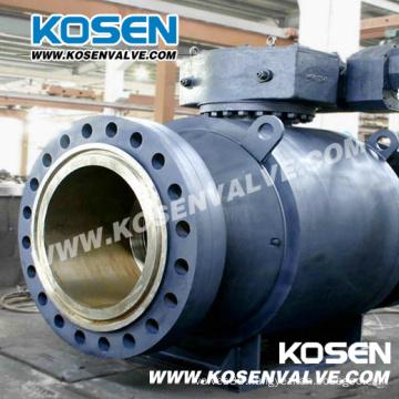 Carbon Steel Full Welded Full Bore Ball Valves for Gas