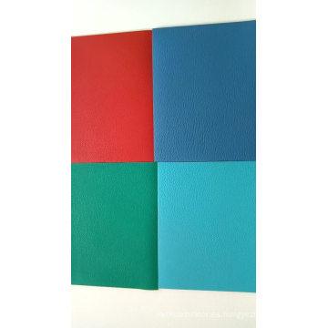 Venta caliente hoja de piso de baile de PVC multicolor