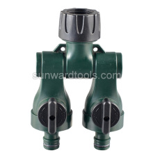 2 Way Plastic Tap Adaptor