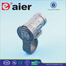 Морской Daier/авто зарядка 12В амперметр цифровой дисплей гнездо