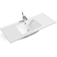 European style high quality porcelain cabinet hand wash basin