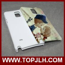 Sublimación 3D caja del teléfono móvil para Samsung Galaxy nota 4 N9100
