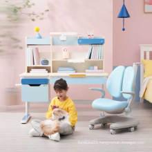 Single piece kid's ergonomic students study chair