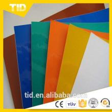 cinta / adhesivo reflectante de grado publicitario en un solo color