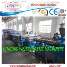 WPC PVC-hölzerner Celuka-Schaum-Brett-Extruder-Linie / PVC-Blatt-Extruder