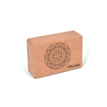Yugland Natural Soft Block Smooth Surface cork yoga bricks