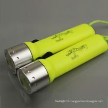 powerful diving torch Underwater LED diving led torch 18650 Torch Lamp Light, diving torch light