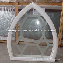 Sound insulation aluminum single pane windows