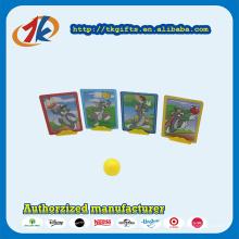 Funny Cardboard Game Shooting Card Jogue com um suporte para crianças