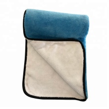 Coral Fleece Microfiber Towels For Car Buffing