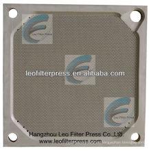 Leo Filter Press Placa de prensa de filtro de membrana de cámara de 1200 PP