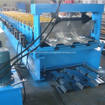 Профилегибочная машина для производства стальных палубных панелей