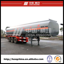 Liquid Tanker Material Semi-Trailer, LNG Tank Trailer 56000L Coming From China