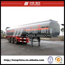 Material semireboque cisterna líquido, tanque de GNL reboque 56000 L vem da China