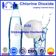 Desinfectante de dióxido de cloro para la desinfección del agua potable