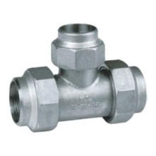 Welded Pipefitting Reducer Tee