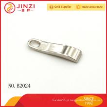 Guangzhou fábrica de vender ouro latão zipper puller