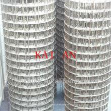 Hebei anping kaian pvc revestido 1/4 galvanizado malla de alambre soldado