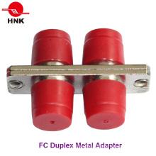 FC Duplex Metal Standard Fiber Optic Adapter