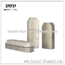 Metal diamantes de bonos de 130mm de tamaño para afilar el granito