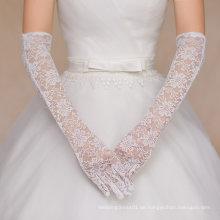 Aoliweiya Hochzeit Zubehör Spitze Braut Handschuh