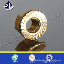Shopping Online Hex Flange Nut for Automobile Plated 5
