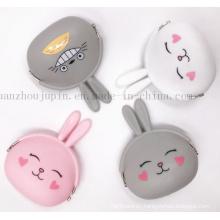 Custom Wholesale Children Kids Silicone Cute Coin Purse