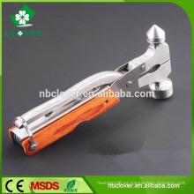 2015 ventana de emergencia herramienta de corte herramienta de acero inoxidable multi con martillo