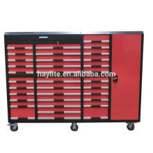 Caja de herramientas de metal de alta calidad Armarios de rodillos de almacenamiento de herramientas