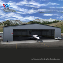 Low cost French Polynesia steel truss industrial clothing helicopter hangar depot steel structure metal hangar agricole