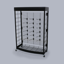 Useful Metal Retail Display Rack For Snacks