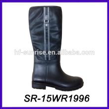 pu upper pvc boot lady pvc rain boot new design rain boot