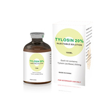 Injection de tartrate de tylosine 20% d'injection pour le poulty