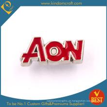 Custom seu próprio logotipo Metal Pin Badge
