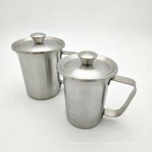 Caneca pequena da promoção dos copos bebendo Eco-amigáveis da caneca de aço inoxidável do metal