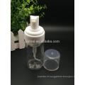 bouteille de pompe à mousse plastique cosmétique