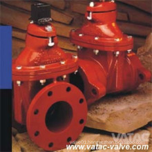 Non Rising Stem Awwa C509 Gate Valve with Hand Wheel or Stem Nut
