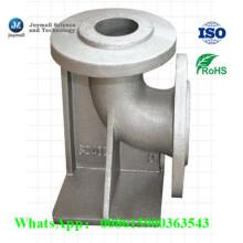 Coude en tube de tuyaux en fonte d'alliage en alliage d'aluminium personnalisé