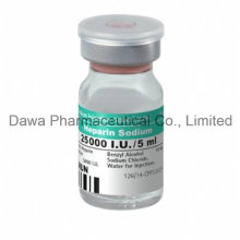 Sangre diluyente Heparin Sodium Injection para trombosis