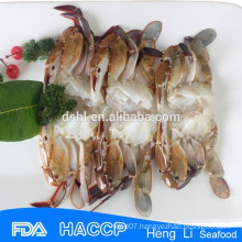 HL003 3 Frozen seafood crab spot cut crab wild catch