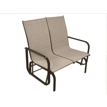 Outdoor furniture sling guilder chair-2*1 textilene