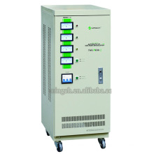 Custom Tns-9k Trois phases Série entièrement automatique Régulateur / Stabilisateur de tension CA