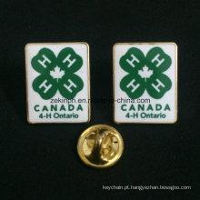 Emblema feito sob encomenda durável do metal do esmalte para presentes da lembrança