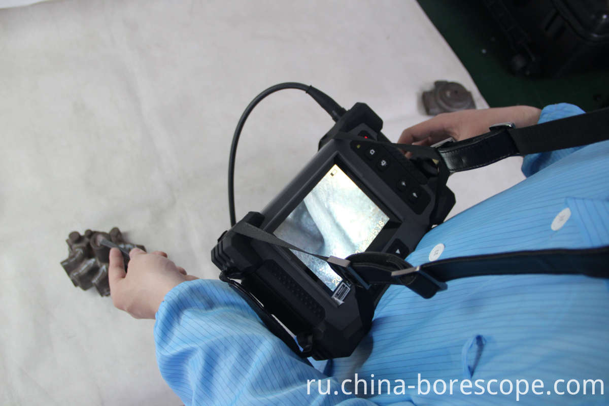 Pressure vessel inspection borescope