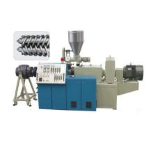 Extrusor de doble husillo de alta eficiencia para tuberías de plástico / perfil / línea de extrusión de láminas